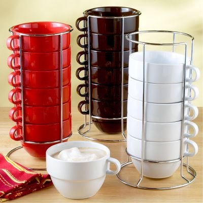 Stackable Coffee Mugs With Stand The Coffee Table